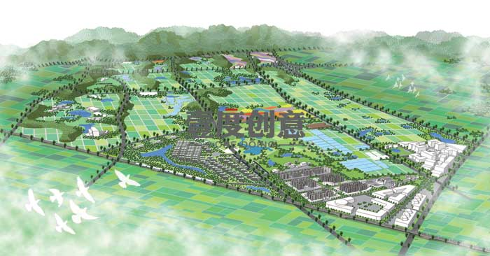 本项目所在地旅游资源丰富,因此,在旅游开发方面将充分体现差异化原则,形成目标市场互补,在南京地区打造独具特色的浦口观光旅游综合版图。   2、市场定位   本项目为综合农业园区策划方案,旨在为建设集农业产业开发、农业品牌会展、农业旅游休闲等多种功能于一体的现代农业园区提供指导。   项目的主题定位为农业创新综合体,项目名称为金陵农业大观,寓意农业在此升华,蓬勃发展。   三、项目建设   结合主题定位,本项目将打造研、居、游、养、展、产、投、教八大创新农业视窗,分别为:   1、生物农业