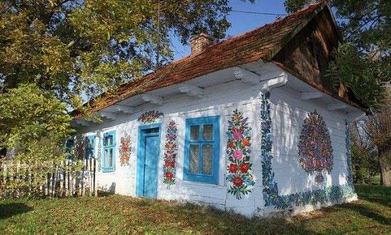 乡村墙绘,乡村旅游,彩绘村